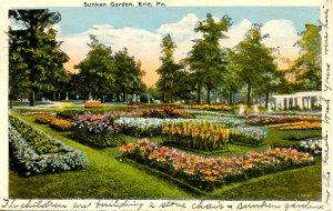 PA - Erie. Sunken Garden