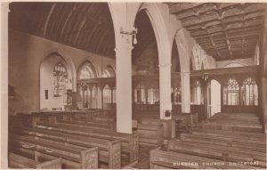 DUNSTER, Somerset, England, UK, 20-40s; Dunser Church ( Interior)