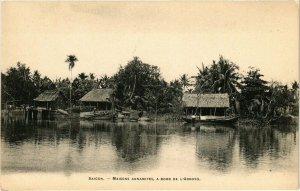 VIETNAM INDOCHINE - Saigon - Maisons Annamites (190222)