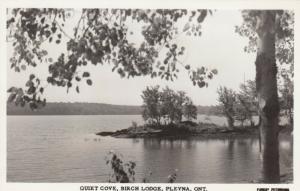 RP: PLEVNA , Ontario , Canada , 1930s ; Quiet Cove , Birch Lodge