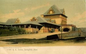MA - Springfield.  Union Railroad Station