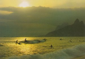 Rio de Janeiro , BRAZIL, 1950-70s ; Surfing