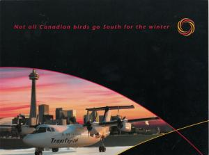 TransCapital Airlines airplane , TORONTO , Ontario , Canada , 80-90s