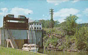 New York Litlle Falls Lock 17 New York State Barge Canal
