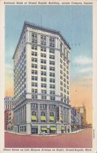 Michigan Grand Rapids National Bank Of Grand Rapids Building 1946 Curteich