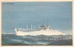 MS Stockholm New York, Canada Ship Postcard Post Card New York, Canada Postca...