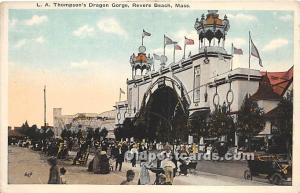 LA Thompson's Dragon Gorge Revere Beach, MA, USA Unused