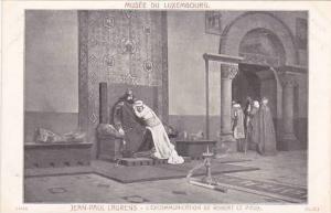 Jean Paul Laurens L'Excommunication De Robert Le Pieux Musee Du Luxembourg