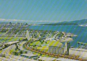 Canada British Columbia Vancouver Aerial View