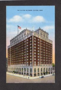 OH The Dayton Biltmore Hotel Dayton Ohio Postcard John M Beres Manager