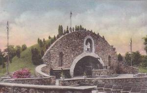 Rhode Island Providence College World War 2 Memorial Grotto Albertype