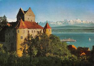 Castle Die Meersburg am Bodensee mit Saentisgruppe Chateau Lac Bateau