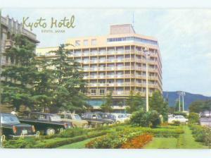 Unused Pre-1980 KYOTO HOTEL Kyoto JAPAN hr6057