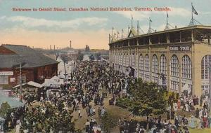 Entrance to Grand Stand, Canadian National Exhibition, Toronto, Ontario, Cana...