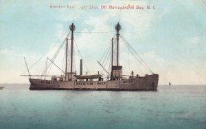 Brenton Reef LIGHTSHIP , NARRAGANSETT BAY , Rhode Island  , 1900-10s