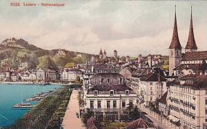 Nationalquai, Luzern, Switzerland, 00-10s