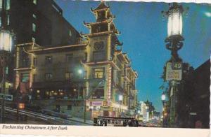 California San Francisco Chinatown After Dark