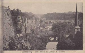 Les Rochers Du Bock & l'Alzette, Luxembourg, 1900-1910s