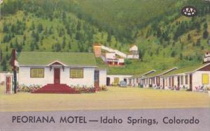 Colorado Idaho Springs Peoriana Motel