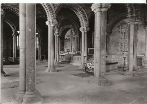 Durham Postcard - Durham Cathedral - The Galilee Chapel  A7897