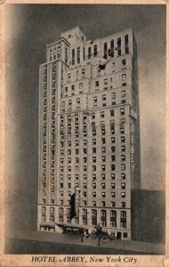 New York City Hotel Abbey 1944