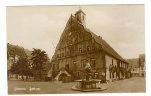RP  Grimma i/Sa, Germany, 00-10s Rathaus