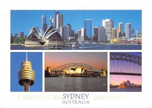Australia Sydney multiviews Panorama General view Bridge Opera House