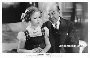 Child Movie Star Shirley Temple Post Card Old Vintage Antique Little Miss Bro...