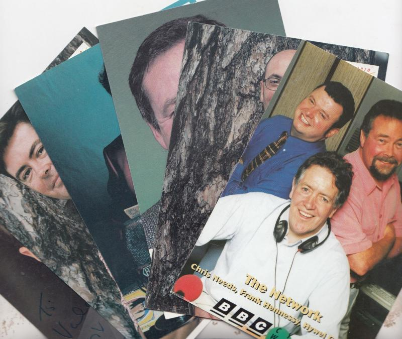 Keith Owen BBC Wales Radio 6x Welsh Cast Cards Incl Signed Photo s
