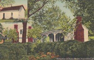 TUSCUMBIA , Alabama , 1930-40s ; Helen Keller Home