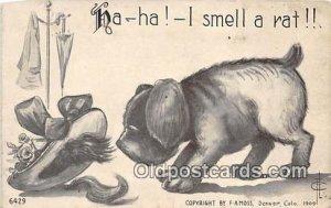 F A Moss Denver, Colorado, USA Dog 1913
