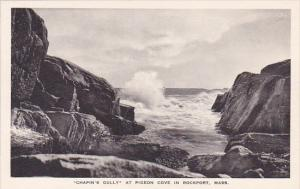 Massachusetts Rockport Chapins Gully At Pigeon Cove In Rockport Albertype