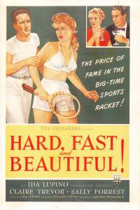 Film Movie Postcard Hard, Fast & Beautiful 1951 RKO HUGE SIZE 205x140mm