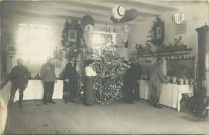 Social history early photo postcard Romania dated 1915 CLUJ military Christmas