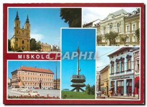 Postcard Modern Miskolc