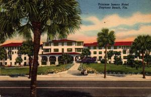 Florida Daytona Beach Princess Issena Hotel Curteich