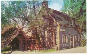 Oldest Wooden Schoolhouse, St Augustine Fl