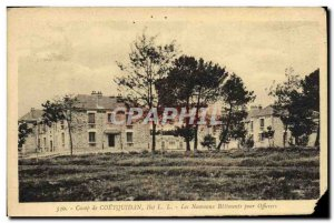Old Postcard Camp De Coetquidan The New Building For Officers