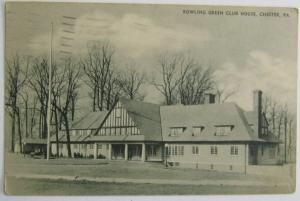 Rowling Green Club House Chester PA 1937