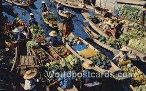 Floating Market Wad Sai Thailand Unused