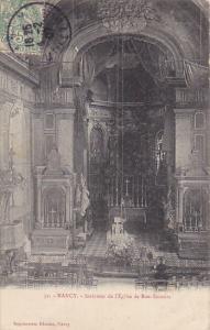 France Nancy Interieur de l'Eglise de Bon-Secours 1907