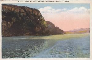 Capes Eternity and Trinity, Saguenay River, Quebec, Canada, 1910-1920s