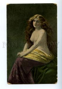 156240 Semi-Nude Belle LONG HAIR by ASTI vintage Russia Color