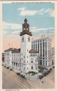 JACKSONVILLE, Florida, 1900-10s; Post Office & Atlantic National Bank Building