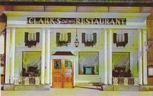 Ohio Cleveland Clarks Colonial Restaurant