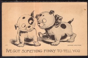I've Got Something Funny to Tell You. Dogs Comic BIN