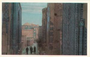 Central Asia UZBEKISTAN Samarqand Shah-i Zindah Portals of the mausoleums