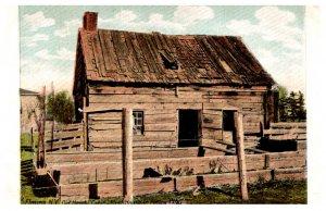 New York  Elmira Old hendy Cabin First House