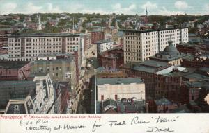 PROVIDENCE, Rhode Island, PU-1905;  Westminster Street from Union Trust Bldg.
