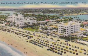 Florida Fort Lauderdale The Fort Lauderdale Beach Hotel & Trade Winds Hotel 1953